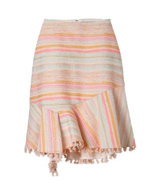 タッセルツイードスカート