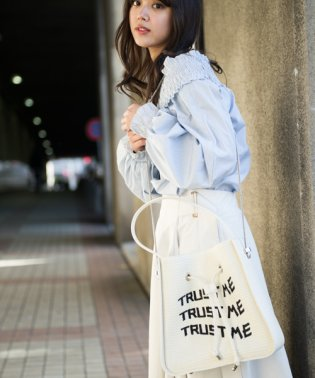 MIXXDAVID / 雑材巾着BAG