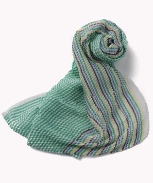 プリーテッドスカーフ