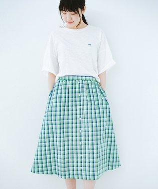 【mer8月号掲載】ドキドキした気持ちになりたい時の華やかチェックフレアースカート