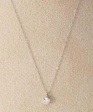 《WEB限定》PT 0.2ct ダイヤモンド tネックレス