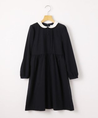 SHIPS KIDS:ピンタック 長袖 ワンピース(140~150cm)【OCCASION COLLECTION】