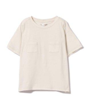 mimi poupons / フロントイン風 Wポケット Tシャツ 18 (ユニセックス 8~12才)