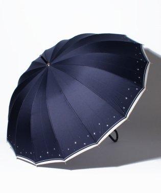 BESUNNYビーサニー長傘【16本骨】スターライン(晴雨兼用UVカット耐風軽量撥水)