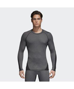 アディダス/メンズ/ALPHASKIN TEAM ヘザーロングスリーブTシャツ