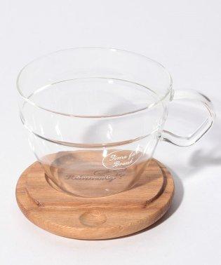 耐熱ガラスカップ&ソーサー