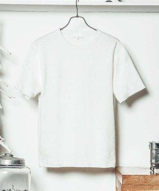 ジャカードクルーネックTシャツ