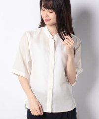 WEB限定【OEPP】キュプラコットンツイルシャツ