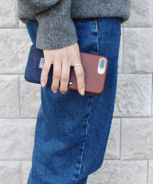 〈Kajsa〉Denim Pocket Backcase