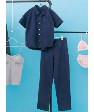 PBPオーガニックコットン上下別々で普段も着られる綿麻パジャマ