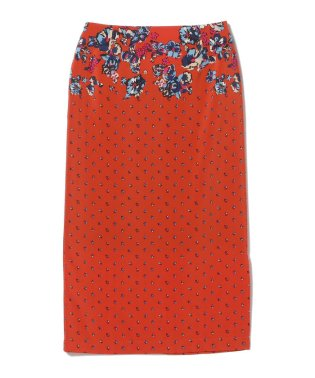 Demi-Luxe BEAMS / ドットフラワースカート