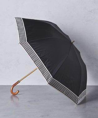 <Athena New York(アシーナ ニューヨーク)>ボーダー 晴雨兼用 折りたたみ傘