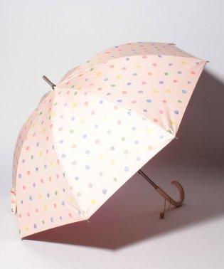 日傘estaa×naniiROTextile/エスタ×ナニイロテキスタイル晴雨兼用長傘遮光colorfulpocho