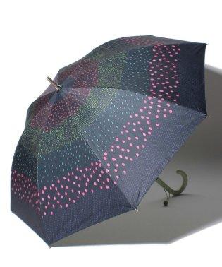 日傘estaa×PIKKUSARRI/エスタ×ピックサーリ晴雨兼用長傘遮光pisaraita