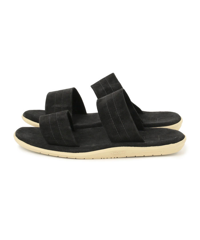ISLAND SLIPPER / Two Strap Suede Sandal