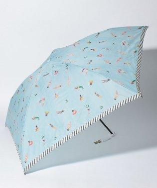 スイマー柄軽量折りたたみ傘雨傘