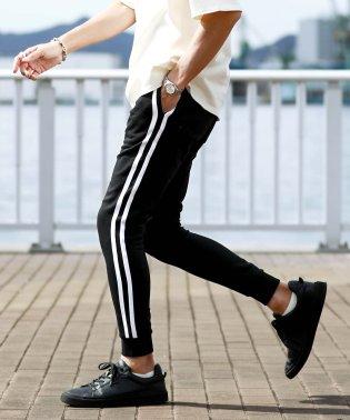 スウェットジョガーパンツ & ジップパンツ / スウェットパンツ メンズ スエット スリム 細身 ジョガーパンツ スポーツ