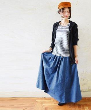 6.5オンスギャザースカート