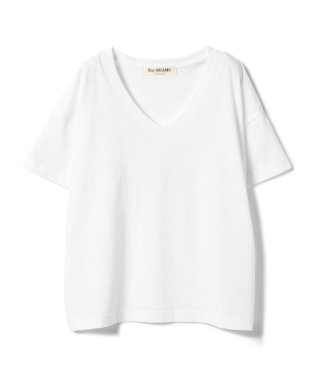Ray BEAMS / ドヅメ 天竺 Vネック Tシャツ