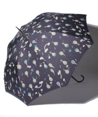 気球柄長傘 雨傘