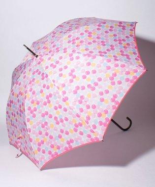 カラフルドット柄長傘 雨傘