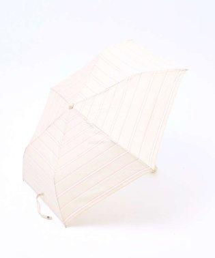 ビコーズ/シャンブレボーダー折傘