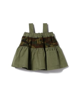 PONY GO ROUND / 2WAY 迷彩切替え ギャザー スカート 18 (85~135cm)
