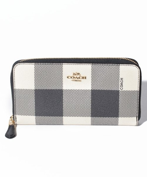 3af436477418 COACH OUTLET F25966 IMF23 ラウンドファスナー長財布|インポート ...