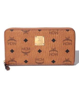 MCM MYL6AVI67CO001 ラウンドファスナー長財布