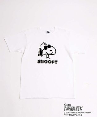 AuBANNISTER×SNOOPY Tシャツ