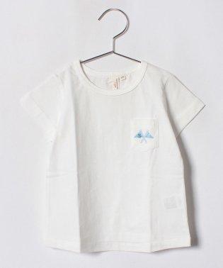 フラッグプリントポケットTシャツ(子供)