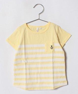 パネルボーダーTシャツ(子供)