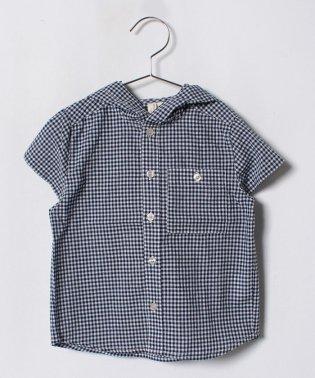 フードシャツ