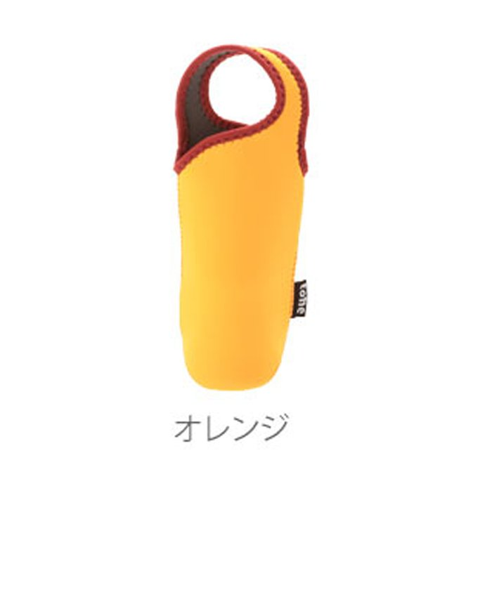 (BACKYARD/バックヤード)ボトルカバー #TC−01/ユニセックス オレンジ