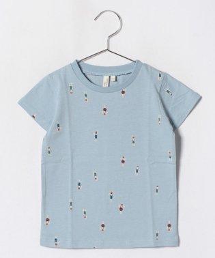 [吸水速乾]スイマープリントTシャツ