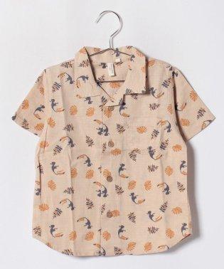 【セットアップ対応商品】リゾート柄半袖シャツ