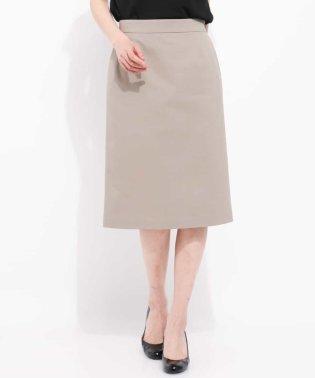 【洗える】【セットアップ対応】トリコットセミタイトスカート