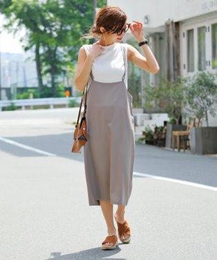 【H-13】ワンピース ジャンパースカート クロスストラップ サロペット