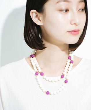 ときどきピンクがかわいいネックレス