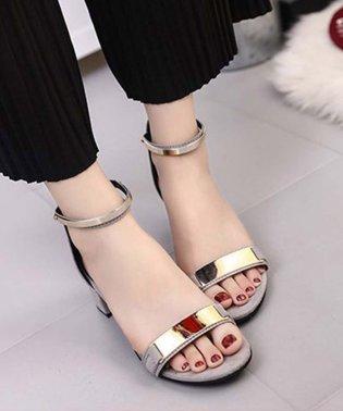 美脚 サンダル レディース 歩きやすい靴 ストラップ サンダル ローヒール 疲れにくい