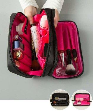 コスメポーチ レディース 化粧ポーチ 機能的な 大容量ケース メイクポーチ 収納 バッグ