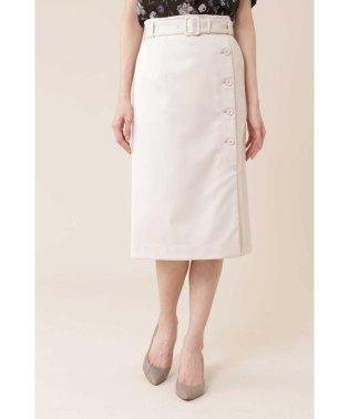 ◆サテンストレッチスカート