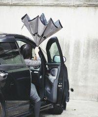 逆さに開く2重傘