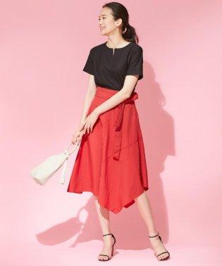 【イレギュラーヘムが美しい】Taslan Taffeta スカート