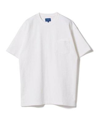 BEAMS / ハイゲージ ルーズポケットTシャツ