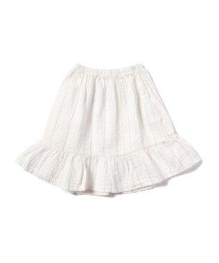 Picnik / ラッフル 切替え スカート 18 (3~6才)