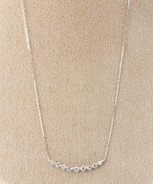 18KWG 0.3ct ダイヤモンド ネックレス
