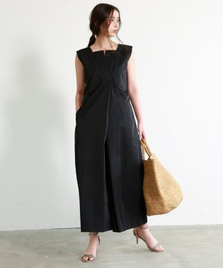 TUCK PANTS DRESS