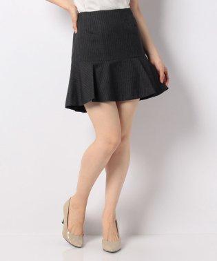 ウールトロストライプマーメイドスカート
