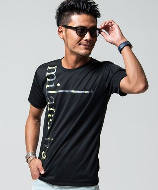 VIOLA【ヴィオラ】プリント入りクルーネック半袖Tシャツ